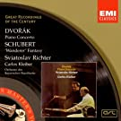Dvor�k: Piano Concerto. Schubert: Fantasy in C Major D.760 'Wanderer'