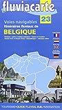 Voies Navigables -Belgique - Itinéraires Fluviaux - 23 - Carte