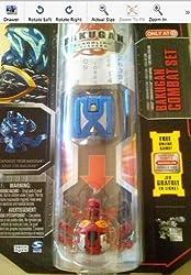 Bakugan Gundalian Invaders Combat Set Blue Aquos Terrorcrest and Red Pyrus Phosphos