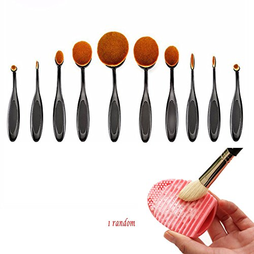 bestim-incuk-10-pack-oval-toothbrush-makeup-brush-set-with-original-box-and-makeup-brush-cleaner-egg