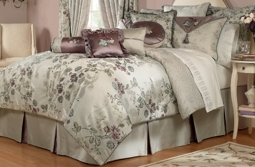 Pink And Silver Bedding