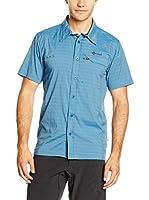 Kilpi Camisa Hombre Bombay-M (Azul)