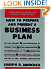 How To Prepare And Present A Business Plan