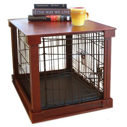 Buy cheap dog crate with wooden cover small review qcf92b5 for Cheap dog crate furniture