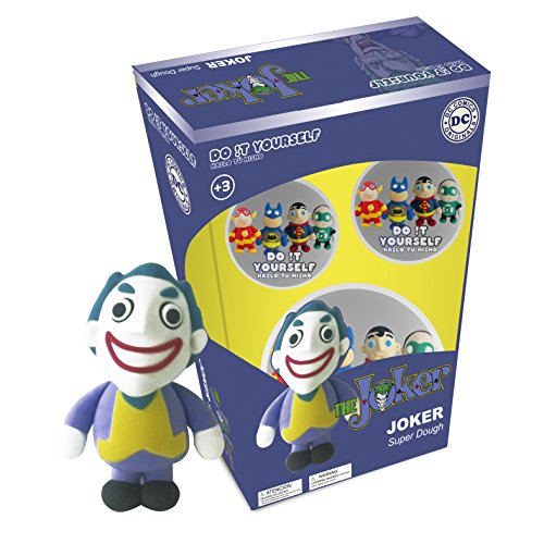 Batman the Joker Super Dough Do It Yourself Modeling Set