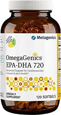 Omegagenics METAGENICS EPA-DHA 720 - 120 SOFTGELS