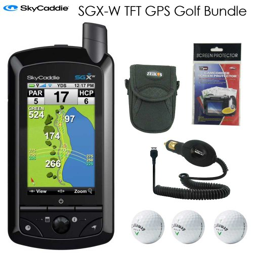 black friday skycaddie sgx w golf gps tft lcd display bundle cyber monday thanksgiving. Black Bedroom Furniture Sets. Home Design Ideas