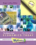Economics Today: The Macro View, 2001-2002 MyEconLab Edition (11th Edition)