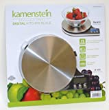 Kamenstein Stainless Steel Digital Kitchen Scale (Silver)