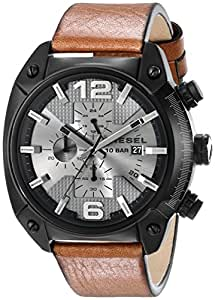 Diesel Men's DZ4317 Overflow Analog Display Analog Quartz Brown Watch