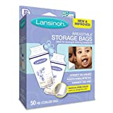 #4: Lansinoh Breast Milk Storage Bags 50-Count