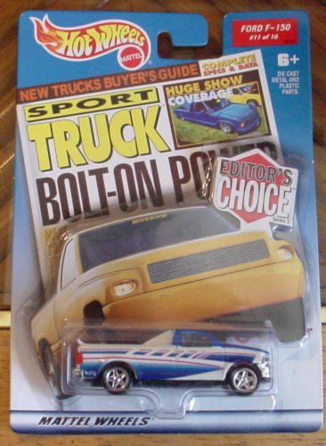 Hot Wheels Editor's Choice Ford F-150 #11 11/16 1:64 Scale - 1