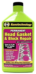 CRC 401232 Permanent Head Gasket & Block Repair with Nanotechnology - 32 fl. oz.