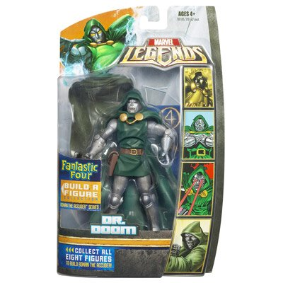 Picture of Hasbro Fantastic Four Legends Series 1 Dr. Doom Action Figure (B000WK1QK6) (Fantastic Four Action Figures)