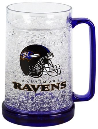 Baltimore Ravens 16oz Crystal Freezer Mug