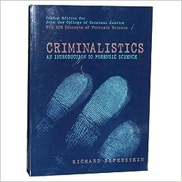 criminalistics 1 M,1criminalistics section • criminalistics is a sub-discipline of forensic science.