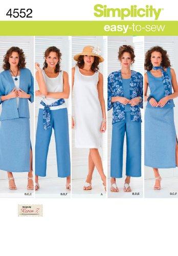 Simplicity Karen Z Easy-to-Sew Pattern 4552