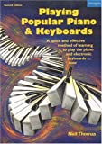 Playing Popular Piano & Keyboards (1854180150) by Thomas, Neil