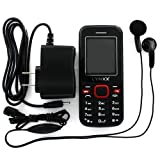 Lynxx X2S Unlocked Dual SIM Quad Band Cell Phone with Bluetooth and Camera, Micro SD, MP3