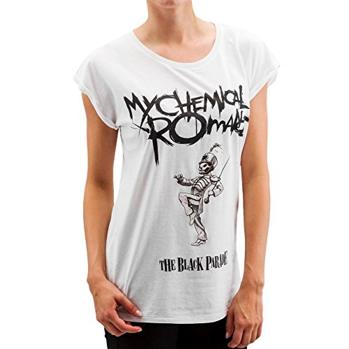 Mister Tee Donna Maglieria / T-shirt My Chemical Romance Black Parade Cover