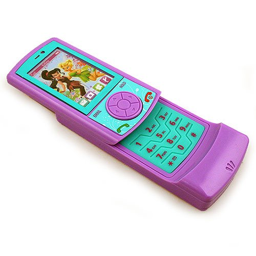 Peter Pan Slide Play Toy Cell Phone - Tinker Bell - 1