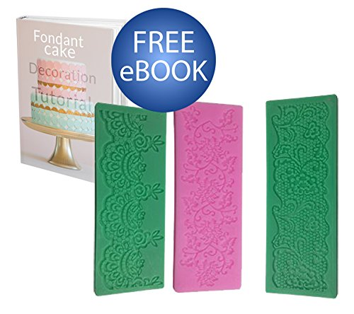my-cake-tool-set-of-3-silicone-molds-for-cake-decorating