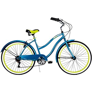 Huffy 26-Inch Ladies Cruiser Newport Bike (Blue)