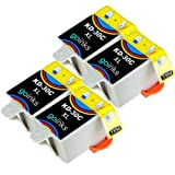 4 Colour Compatible Printer Ink Cartridges to replace Kodak 30C (XL) for Kodak ESP 1.2, 3.2, 3.2S, C110, C310, C315, Office 2170, 2170 & Hero 3.1, 5.1