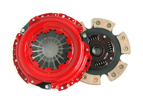 Yonaka H Series 6 Puck Stage 3 Performance Heavy Duty Clutch Kit Set Ceramic Disc H22 H23 F22 F23
