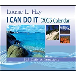 I CAN DO IT 365 Daily Affirmations Page-A-day Box / Desk / Tear-Off Calendar 2013