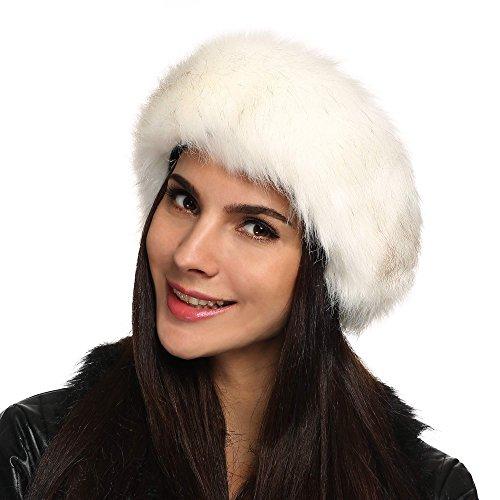 Zeagoo Women's Faux Fur Headband For Winter Earwarmer Earmuff Hat Ski