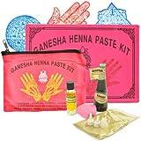 Ganesha Kit De Hénné Avec Pochoirs