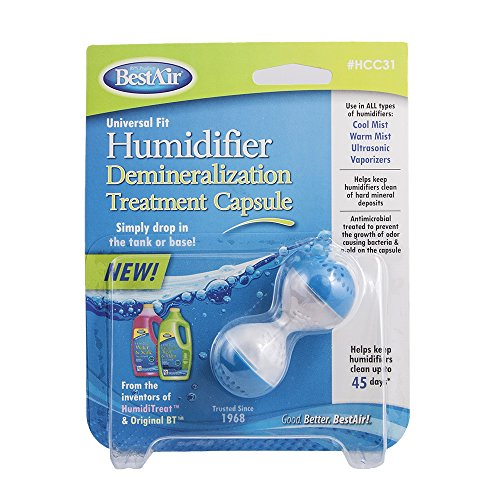 BestAir HCC31 Humidifier Cleaner Capsule (Ultrasonic Humidifier Treatment compare prices)