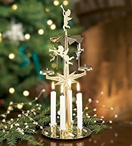 Spinning Angel Chimes Candle Holder