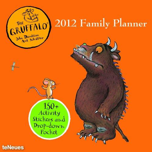Gruffalo Family Planner Grid Calendar 2012