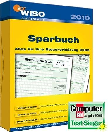 WISO Sparbuch 2010 (für Steuerjahr 2009)
