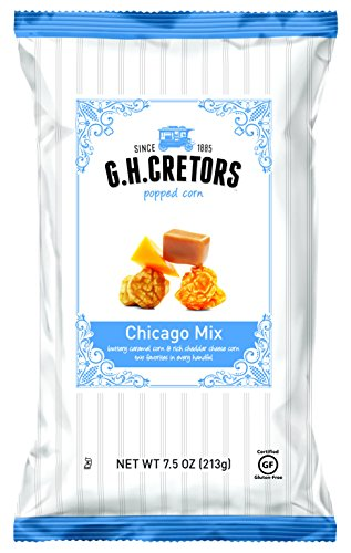 G.H. Cretors Popcorn Chicago Mix, 7.5-Ounce Bags (Pack of 12) (Garrett Popcorn From Chicago compare prices)