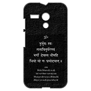 a AND b Designer Printed Mobile Back Cover / Back Case For Motorola Moto G (Moto_G_3D_1445)