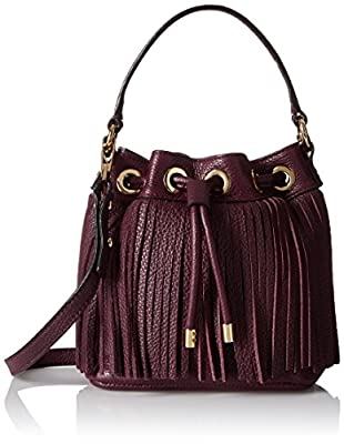 MILLY Essex Fringe Small Drawstring Convertible Cross Body