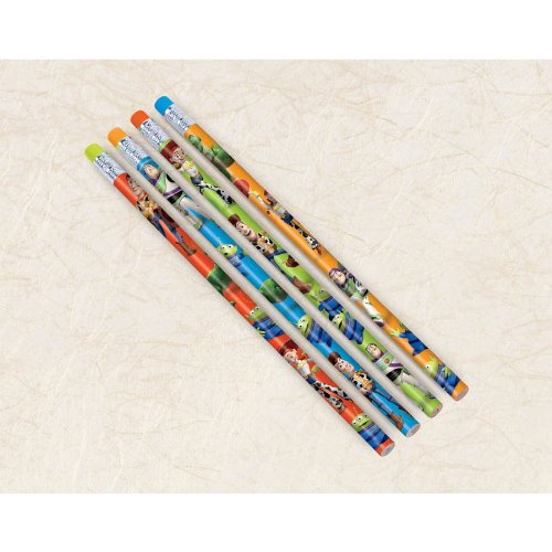 Toy Story Party Favors - 4 Assorted Pencils