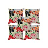 Rajrang Multi Color Cotton Digital Printed Cushion Cover Set Of 5 Pcs #Ccs05835