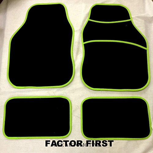 chevrolet-aveo-2008-2011-new-lime-green-universal-car-carpet-floor-mats-set-of-4-front-rear