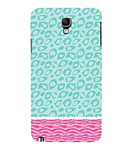 Sea Cheeta Pattern 3D Hard Polycarbonate Designer Back Case Cover for Samsung Galaxy Note 3 Neo N7505