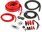 Belva BPK0D 1/0 + 4 Gauge Dual Amplifier Power Kit (CCA Wiring)