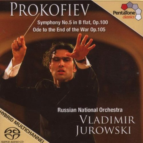 Prokoviev Symphony No. 5; Ode To The End [SACD]- JUROWSKI Serge Prokofiev Russ