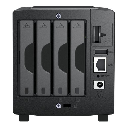 Synology DS-411SLIM/2TB 4 Bay 2TB 2.5 Inch NAS Solution (4x 500GB 2.5 Inch HDD Installed)