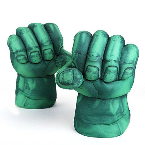 [Actopus Hulk Boxing Gloves Hands Cosplay Costume Incredible Toys] (Incredible Hulk Costume Ideas)