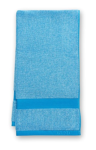 GUND Melange Bath Towel, Circus Blue, 24'' By 48''