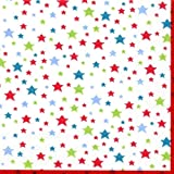 Cath Kidston Pocket Tissues Multi Star White