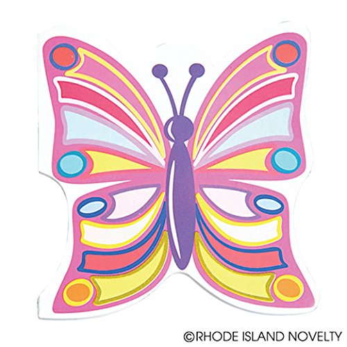 Dozen Butterfly Design Mini Memo Notepads